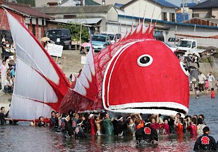 鯛祭り 愛知県南知多町