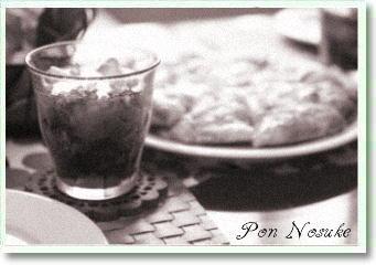 b白黒ピザ