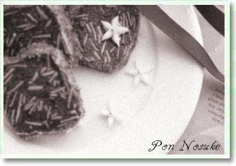 b白黒アイスボックスクッキー