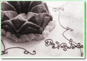 B白黒カボチャケーキ