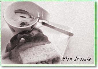 b白黒ポテトサンド