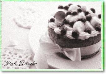 b白黒バナナケーキ