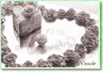 b白黒anniversary