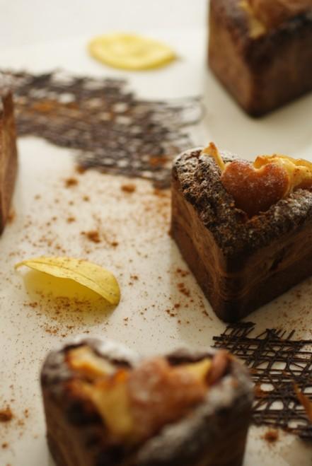 B縦焼き林檎ケーキ