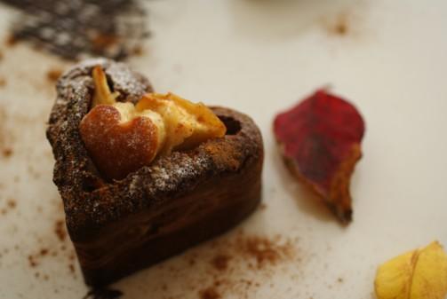 B横焼き林檎ケーキ