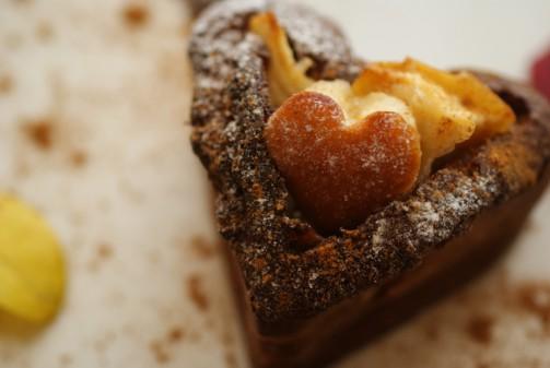 Bアップ焼き林檎ケーキ