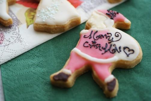 b横ミミりんママさんアイシングクッキー