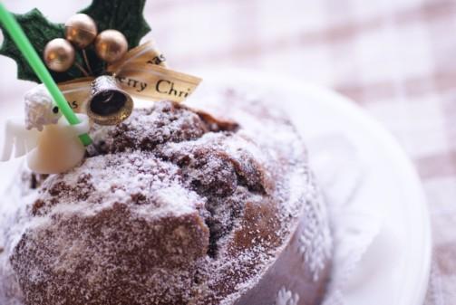 b横ミックス粉チョコケーキ