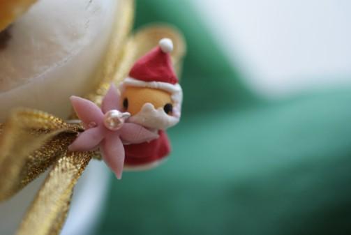 bサンタアップクリスマスパンナ
