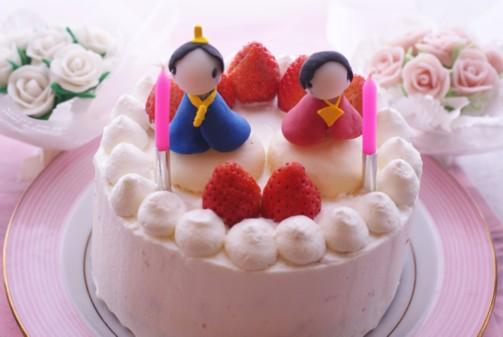 B横雛ケーキ