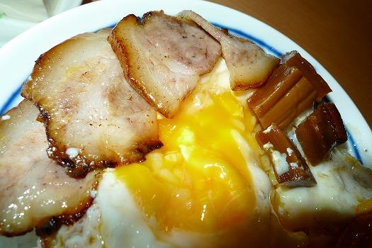 純焼き豚玉子丼