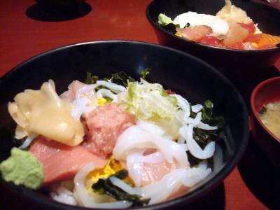 魚菜屋の海鮮丼