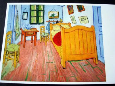 【アルルの寝室(1888年)】