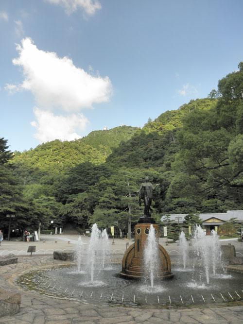 岐阜城遠景