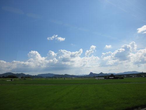 佐賀夏の空
