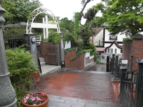 神戸北野美術館入り口