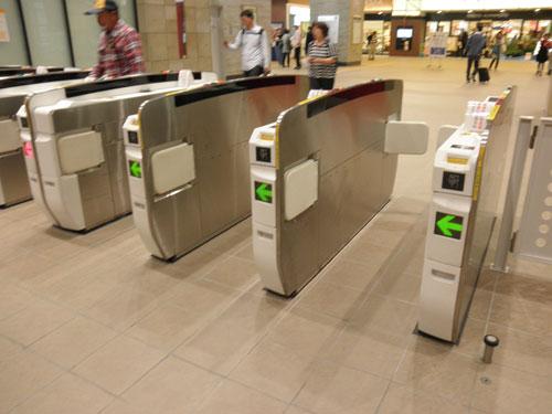 熊本駅改札