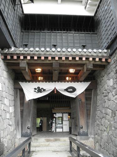 熊本城入り口