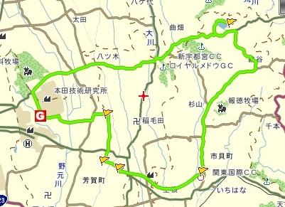 20120428芝桜サイクリング