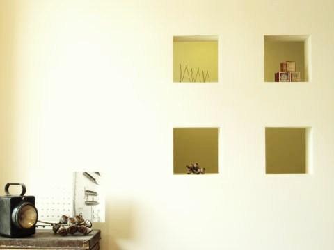 2つの空間を仕切る壁3