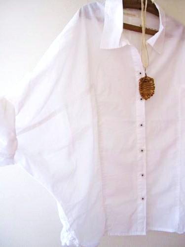 白シャツリメイク1