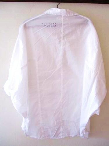 白シャツリメイク3