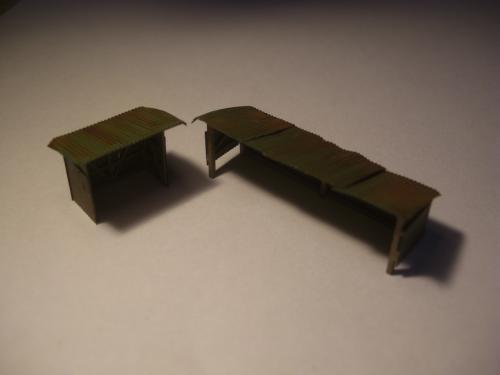鉄道模型 保線機材置き場 4