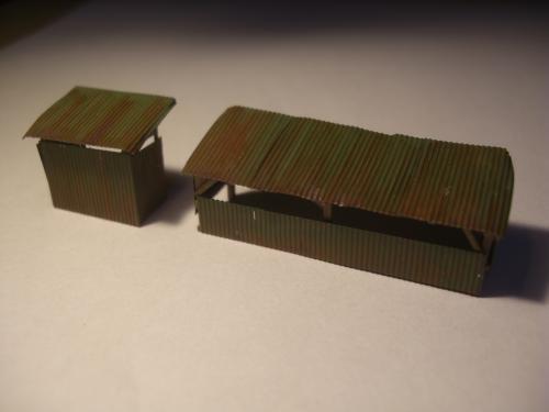 鉄道模型 保線機材置き場 3