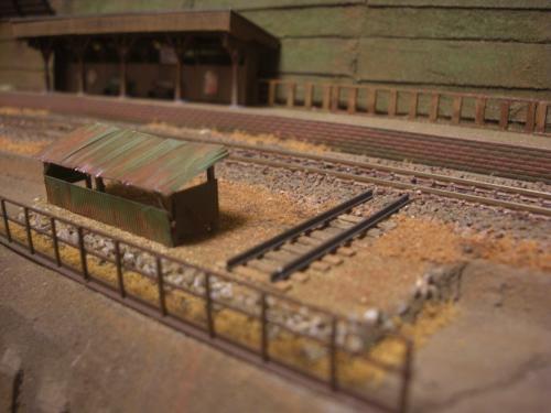 鉄道模型 保線機材置き場 5