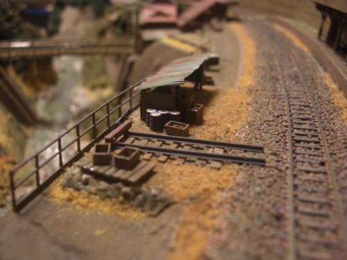 鉄道模型 保線機材置き場 6