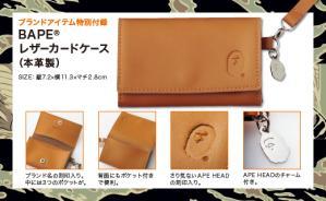 べいしんぐえいぷの本皮カードケース