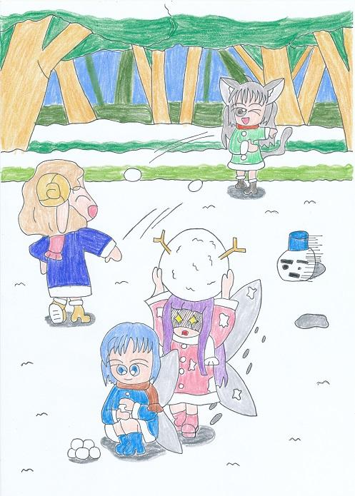 雪合戦 2013.12.3