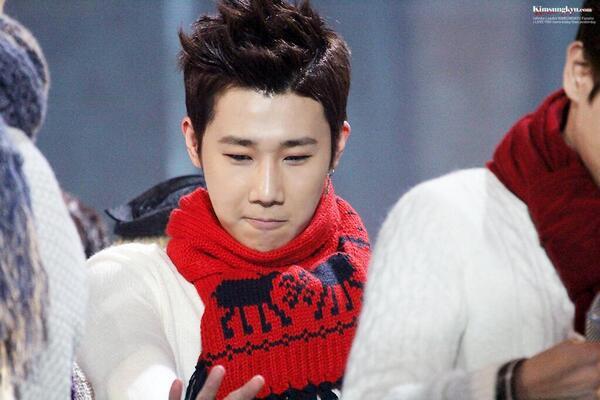 131229 SBS Gayo Daejeon - Kim Sungkyu