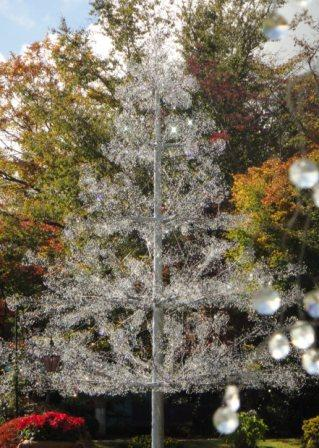 ガラスのツリー