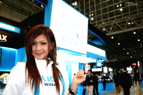 UQ WiMAX@CEATEC JAPAN 2010