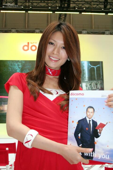 ますあや / NTTドコモ -CEATEC JAPAN 2011-