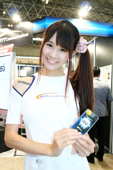 片岡ミカ / NTT Communications -CEATEC JAPAN 2011-