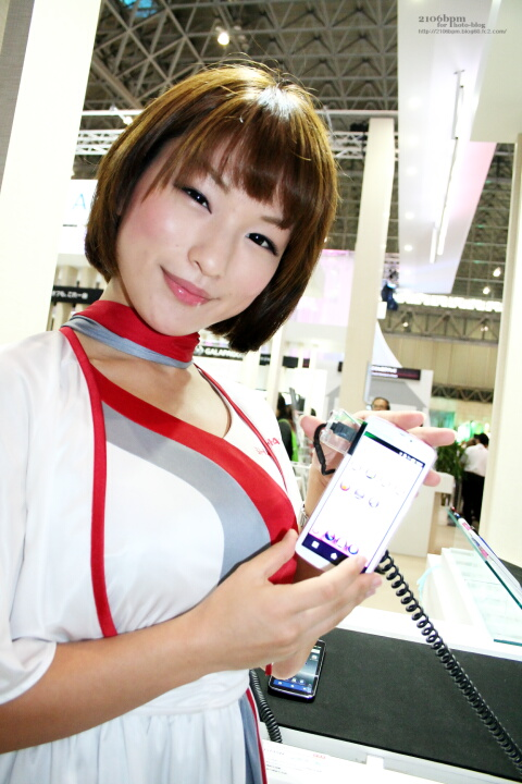 七海真希 / SHARP -CEATEC JAPAN 2011-