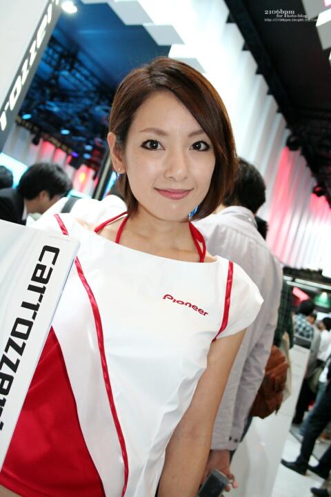 宮城章恵 / Pioneer -CEATEC JAPAN 2011-