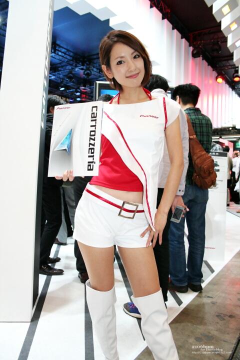 章恵 / Pioneer -CEATEC JAPAN 2011-