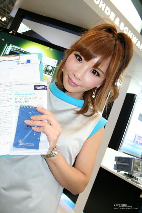 小林英梨子 / ROHDE&SCHWARZ -CEATEC JAPAN 2011-