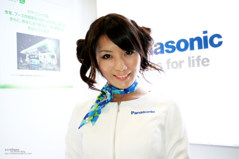 細矢かな / Panasonic -CEATEC JAPAN 2011-