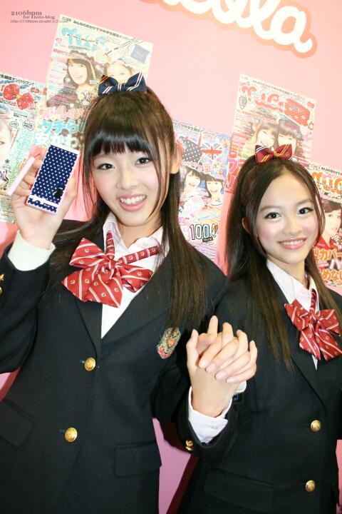 古畑星夏 藤麻里亜 / NTTドコモ 2011-2012冬春モデル 新商品・新サービス発表会