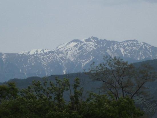 南アルプス(仙丈岳)