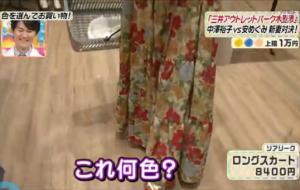 ソアリークのロングスカート