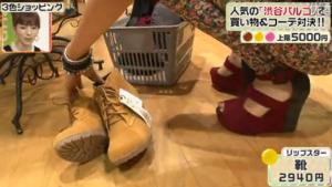 リップスター、靴