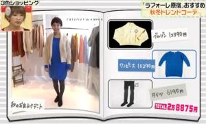 ファッションコーディネートのテーマ「秋のお出かけデート」
