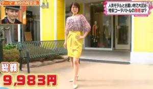 新田恵利のファッションコーディネート