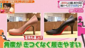 靴底の角度