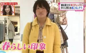 黄色いコート